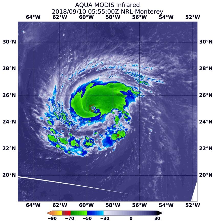FLORENCE-MODIS-91018